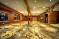 Epoxy, and Custom Tile Floors For Less Starting at $4 / sqr ft