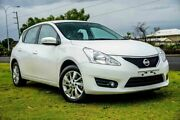 2016 Nissan Pulsar C12 Series 2 ST-L White 1 Speed Constant Variable Hatchback Wangara Wanneroo Area Preview
