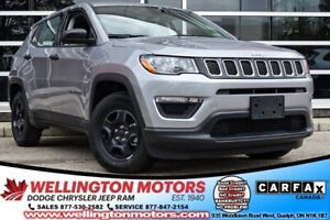 2019 Jeep Compass Sport | Cold Weather Group | Less Than 2000 K'