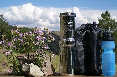 Go Berkey Mollify Purification System w/1 Black Filter, Generic Sport, Bag, Primer
