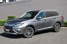 2015 Mitsubishi Outlander ZK MY16 LS 4WD Grey 6 Speed Constant Variable Wagon Main Beach Gold Coast City Preview