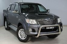 2013 Toyota Hilux KUN26R MY12 SR5 (4x4) Graphite 5 Speed Manual Dual Cab Pick-up Aberdare Cessnock Area Preview