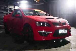 2012 Holden Special Vehicles Maloo E Series 3 MY12.5 R8 Red 6 Speed Manual Utility Wangara Wanneroo Area Preview
