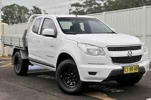 2013 Holden Colorado RG MY13 LX Space Cab White 6 Speed Sports Automatic Cab Chassis Gosford Gosford Area Preview