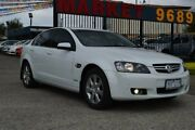 2010 Holden Berlina VE MY10 Dual Fuel White 4 Speed Automatic Sedan West Footscray Maribyrnong Area Preview