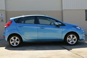 2010 Ford Fiesta WS LX Blue 4 Speed Automatic Hatchback Ashmore Gold Coast City Preview