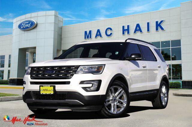 2017 Ford Explorer Xlt 13426 Miles White Platinum Metallic Tri-Coat Sport Utilit