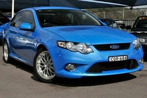 2008 Ford Falcon FG XR6 Blue 5 Speed Sports Automatic Sedan North Gosford Gosford Area Preview