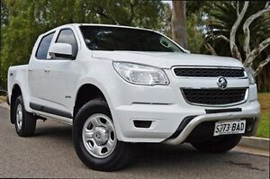 2013 Holden Colorado RG MY14 LX Crew Cab White 6 Speed Sports Automatic Utility Thorngate Prospect Area Preview