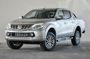 2016 Mitsubishi Triton MQ MY16 GLS Double Cab Silver 6 Speed Manual Utility Robina Gold Coast South Preview