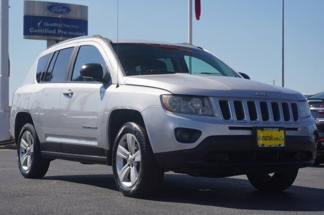 Owner 2011 Jeep Compass Sport 115597 Miles Bright Silver Metallic Sport Utility Gas I4