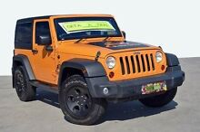 2012 Jeep Wrangler JK MY2013 Sport Orange 6 Speed Manual Softtop Coolangatta Gold Coast South Preview