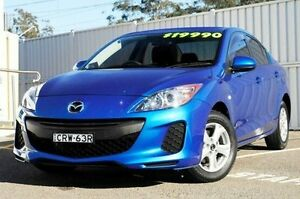 2013 Mazda 3 BL10F2 MY13 Neo Activematic Blue 5 Speed Sports Automatic Sedan Gosford Gosford Area Preview