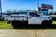 2015 Toyota Hilux TGN121R Workmate 4x2 White 6 Speed Sports Automatic Cab Chassis Wangara Wanneroo Area Preview