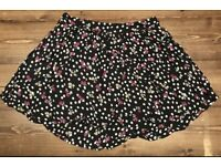 Miss Selfridge Size 10 Cherry Mini Skirt