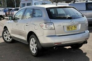 2008 Mazda CX-7 ER1031 MY07 Luxury Silver 6 Speed Sports Automatic Wagon North Gosford Gosford Area Preview