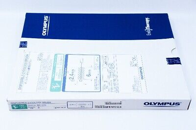 Olympus Bc-23q Disposable Cytology Brush 2.4mm X 6mm - Box Of 3