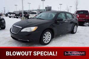 2012 Chrysler 200 AUTOMATIC Accident Free,  Heated Seats,  A/C,