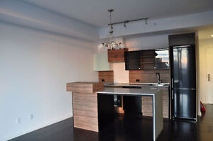One bedroom condos at 28th floor of 75 St. Nicholas St Residence