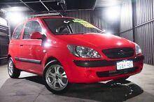 2011 Hyundai Getz TB MY09 SX Red 5 Speed Manual Hatchback Wangara Wanneroo Area Preview