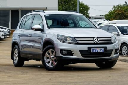 2013 Volkswagen Tiguan 5N MY13.5 132TSI DSG 4MOTION Pacific Silver 7 Speed Mandurah Mandurah Area Preview