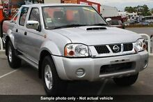 2013 Nissan Navara D22 S5 ST-R Silver 5 Speed Manual Utility Knoxfield Knox Area Preview
