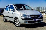 2011 Hyundai Getz TB MY09 SX Silver 4 Speed Automatic Hatchback Wangara Wanneroo Area Preview