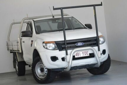 2015 Ford Ranger PX XL 4x2 Hi-Rider White 6 Speed Sports Automatic Cab Chassis Kedron Brisbane North East Preview