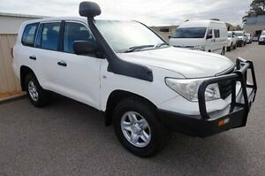 2012 Toyota Landcruiser VDJ200R MY10 GX White 6 Speed Sports Automatic Wagon Pearsall Wanneroo Area Preview
