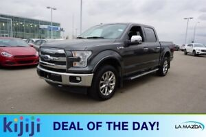 2017 Ford F-150 4X4 SUPERCREW LARIAT Accident Free,  Navigation