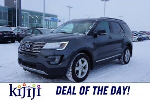 2016 Ford Explorer AWD XLT Accident Free,  Leather,