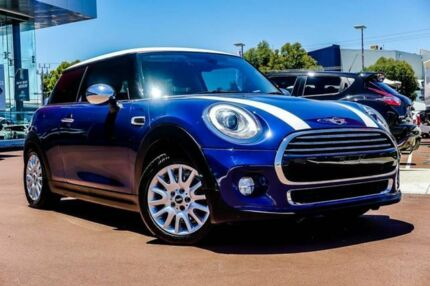 2014 Mini Hatch F56 Cooper Blue 6 Speed Automatic Hatchback Osborne Park Stirling Area Preview