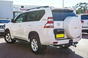 2015 Toyota Landcruiser Prado KDJ150R MY14 GXL White 5 Speed Sports Automatic Wagon Westminster Stirling Area Preview