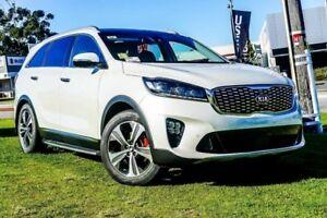 2018 Kia Sorento UM MY19 GT-Line Snow White Pearl 8 Speed Sports Automatic Wagon Wangara Wanneroo Area Preview