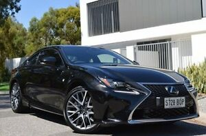 2015 Lexus RC GSC10R RC350 F Sport Black 8 Speed Sports Automatic Coupe Thorngate Prospect Area Preview