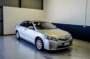 2010 Toyota Camry AHV40R MY10 Hybrid Luxury Silver 1 Speed Constant Variable Sedan Hillcrest Port Adelaide Area Preview