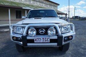 2013 Nissan Patrol Y61 GU 9 ST Plus White 4 Speed Automatic Wagon Rockhampton Rockhampton City Preview