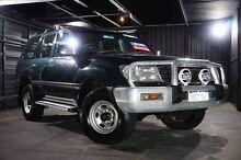 2002 Toyota Landcruiser HZJ105R GXL Green 4 Speed Automatic Wagon Wangara Wanneroo Area Preview