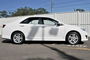 2013 Toyota Camry ASV50R Atara S White 6 Speed Sports Automatic Sedan Gosford Gosford Area Preview
