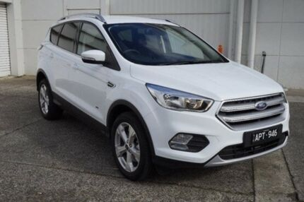 2017 Ford Escape ZG Trend AWD White 6 Speed Sports Automatic Wagon