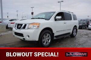 2010 Nissan Armada 4X4 PLATINUM Accident Free,  Navigation (GPS)