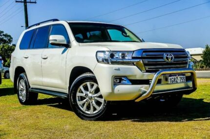 2017 Toyota Landcruiser VDJ200R VX White 6 Speed Sports Automatic Wagon Wangara Wanneroo Area Preview