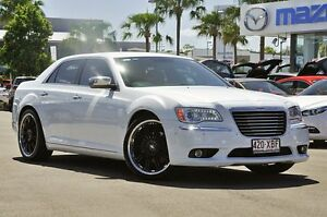 2012 Chrysler 300 C E-Shift Ivory White 8 Speed Sports Automatic Sedan Robina Gold Coast South Preview