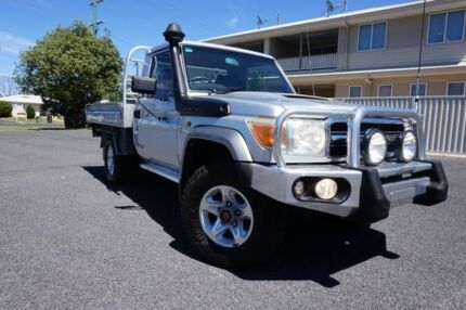 2008 Toyota Landcruiser VDJ79R GXL Silver Pearl 5 Speed Manual Cab Chassis