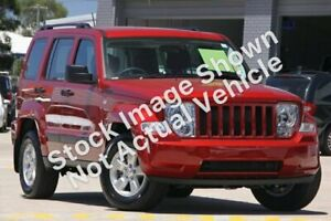 2010 Jeep Cherokee KK Sport (4x4) Red 4 Speed Automatic Wagon Broadmeadow Newcastle Area Preview