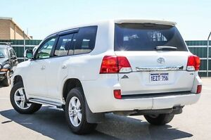 2013 Toyota Landcruiser VDJ200R MY12 VX White 6 Speed Sports Automatic Wagon Osborne Park Stirling Area Preview