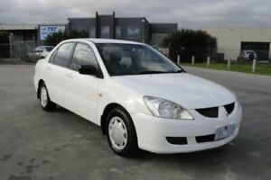 2004 Mitsubishi Lancer CH ES White 4 Speed Automatic Sedan Hoppers Crossing Wyndham Area Preview