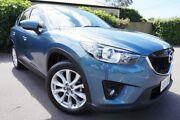 2014 Mazda CX-5 KE1031 MY14 Grand Touring SKYACTIV-Drive AWD Blue 6 Speed Sports Automatic Wagon Glenelg East Holdfast Bay Preview