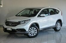 2013 Honda CR-V RM VTi White 5 Speed Automatic Wagon Southport Gold Coast City Preview