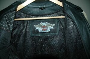 Ladies Leather Harley Davidson Riding Jacket One Of A Kind! London Ontario image 4